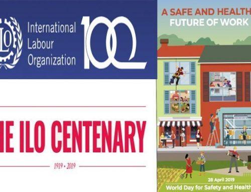 Werelddag voor veiligheid en gezondheid op het werk en het 100-jarig bestaan van de IAO